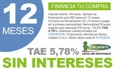 Financiamos de 12 a 24 meses su compra